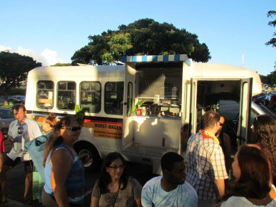 Honolulu's newest German foodtruck, the Wurst-Wagen