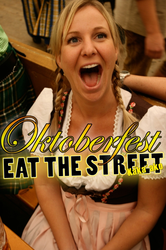 Eat The Street celebrates Oktoberfest in Honolulu. Join us in Kakaako, Hawaii and #EatTheStreet